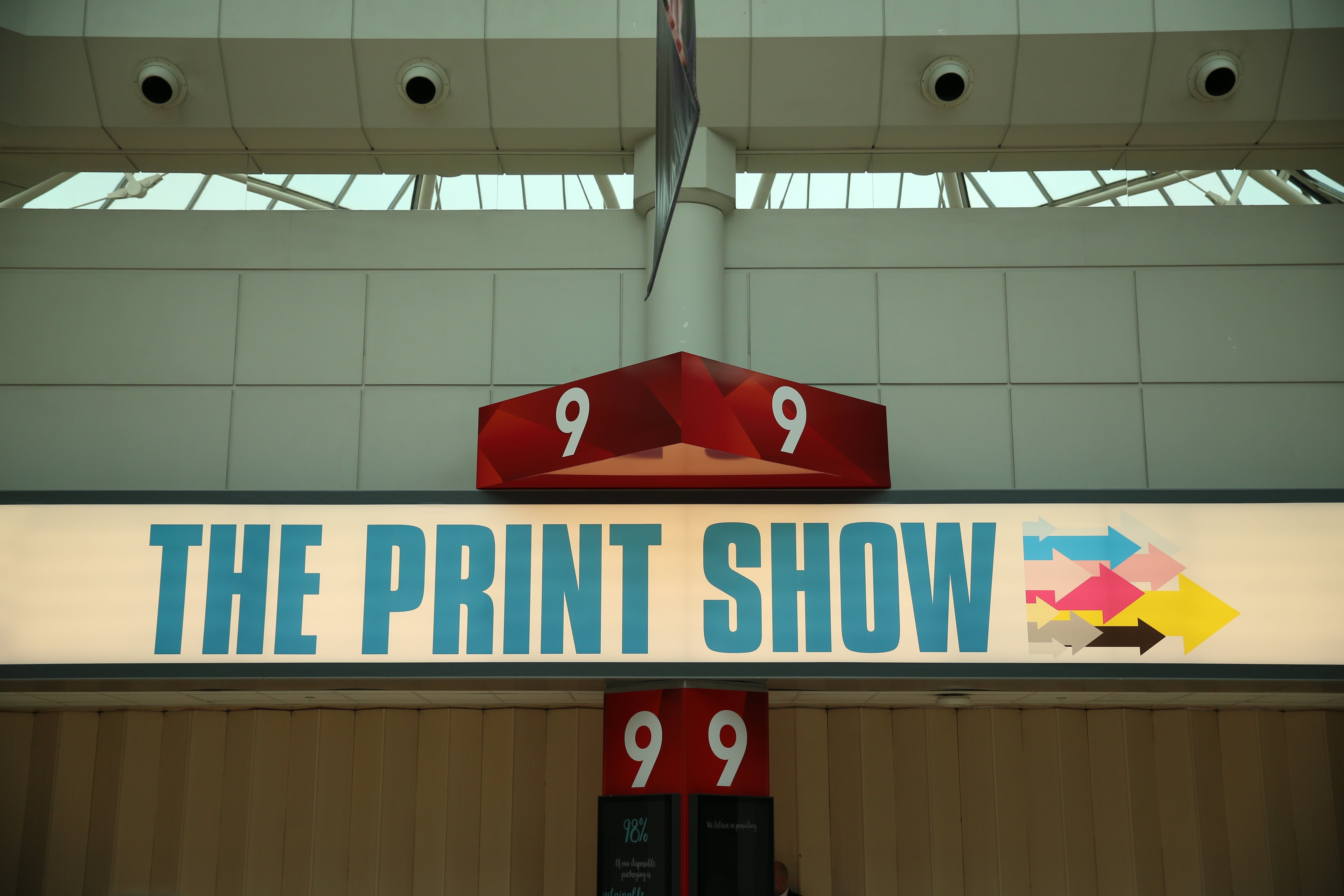 The Print Show Entrance