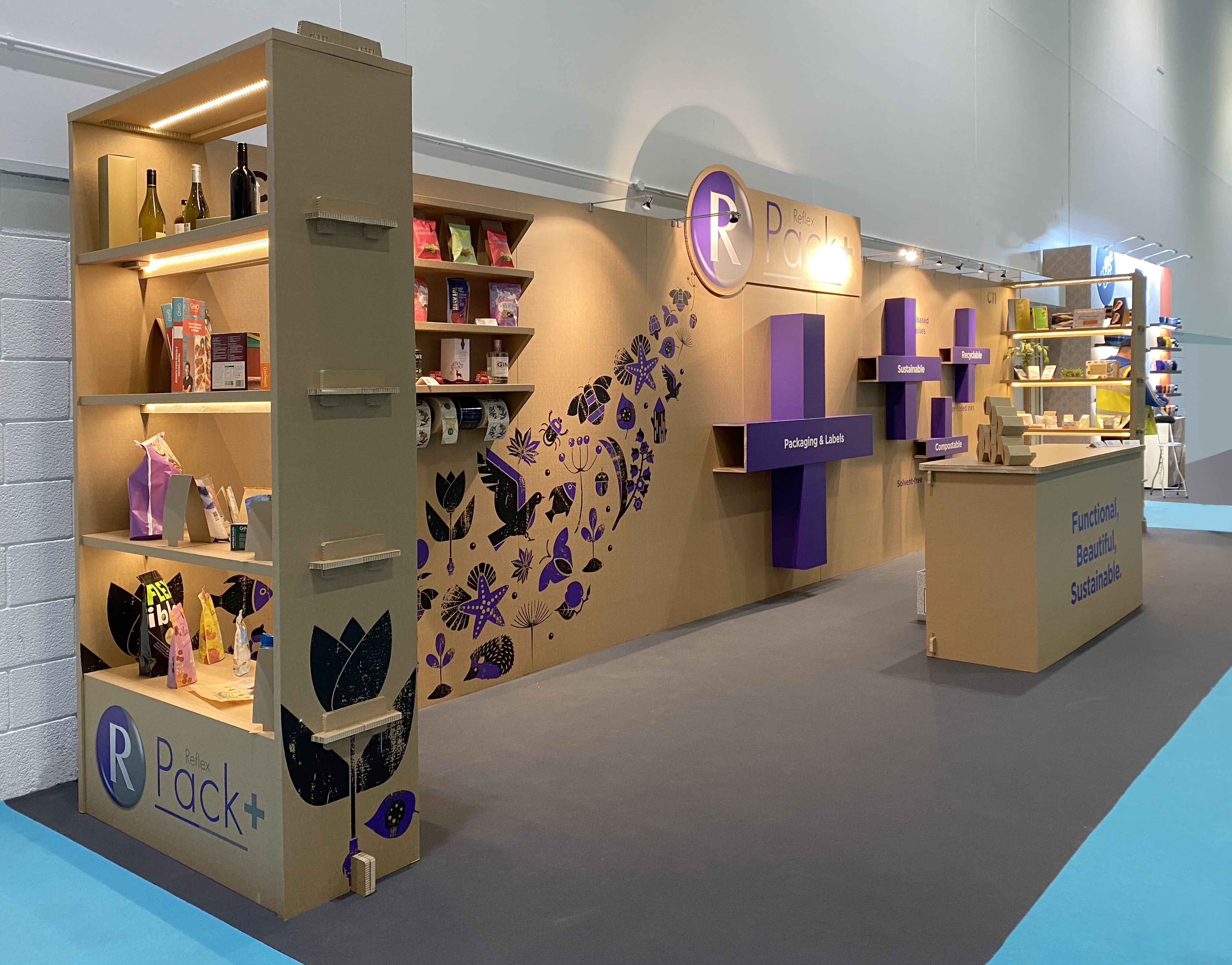 Recyclable Exhibition stand